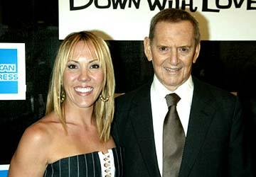 Tony Randall and wife Heather Down With Love Premiere Tribeca Film Festival, 5/6/2003