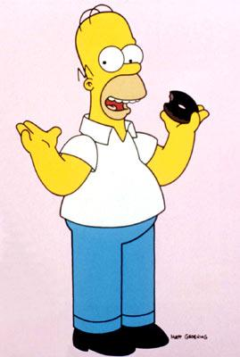 Homer J. Simpson (voiced by Dan Castellaneta) Fox's The Simpsons