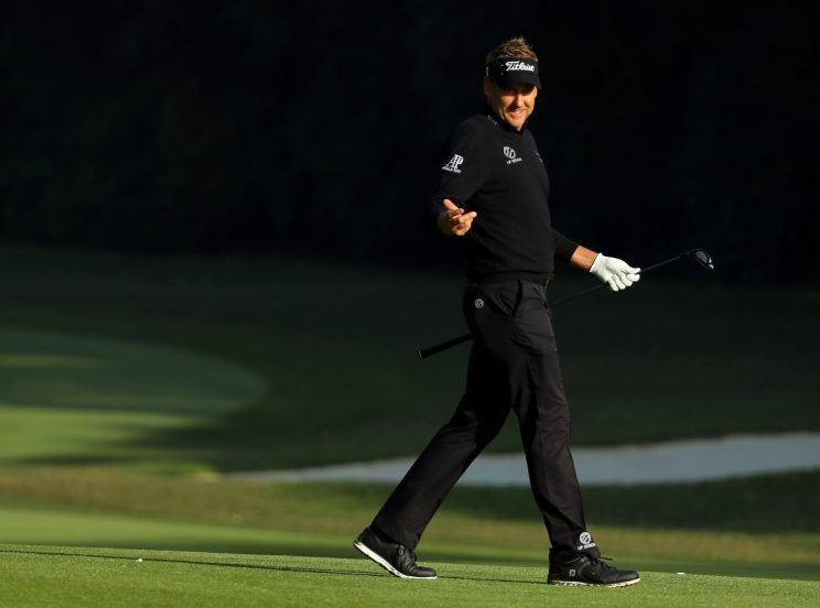 Ian Poulter got into a bizarre altercation on Friday in Hong Kong. (Getty Images)