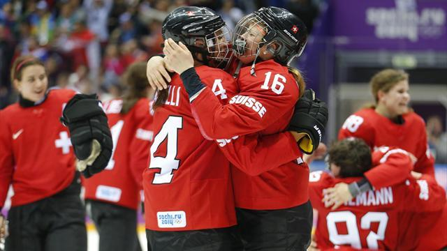 Ice Hockey - Swiss fight back to beat Sweden for women's bronze