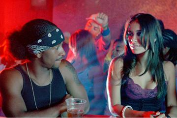 Omari Grandberry and Zulay Henao in TriStar Pictures' Feel the Noise