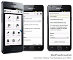Using WordPress on Mobile Devices image wordpress android 300x2461