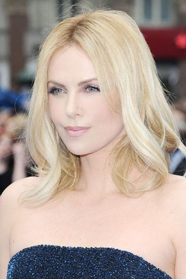 Charlize Theron's Shoulder Skimmer