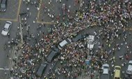 Pope In Brazil: Thousands Mob Pontiff's Car