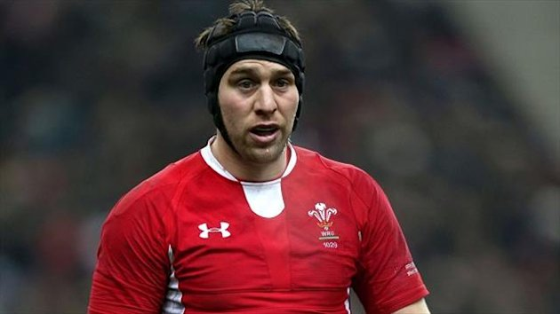 Cardiff back row Ryan Jones
