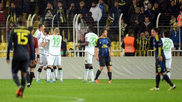 Europa League - Fenerbahce ordered to play behind closed doors