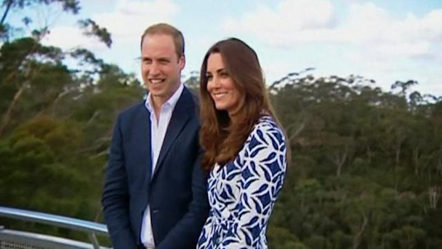 Royals meet bushfire survivors Down Under