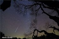 Astrophotographer Mark Ezell sent in this photo of a Geminid meteor taken Dec. 13, 2012, in Lometa, TX.