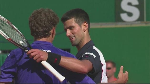 Djokovic and Federer through in Monte Carlo