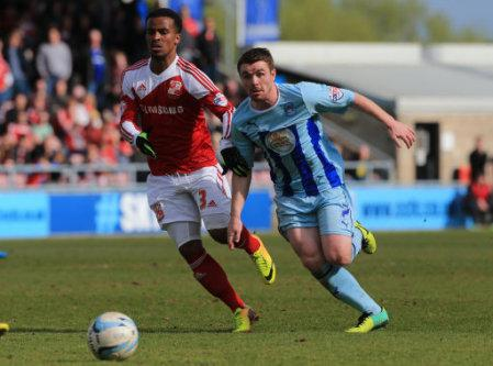 Soccer - Sky Bet League One - Coventry City v Swindon Town - Sixfields Stadium