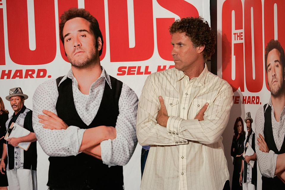 The Goods Live Hard Sell Hard LV Premiere 2009 Will Ferrell