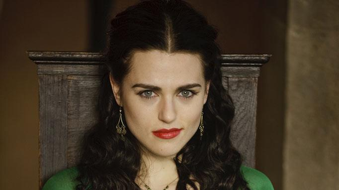 "Katie McGrath stars as Morgana in ""Merlin."""