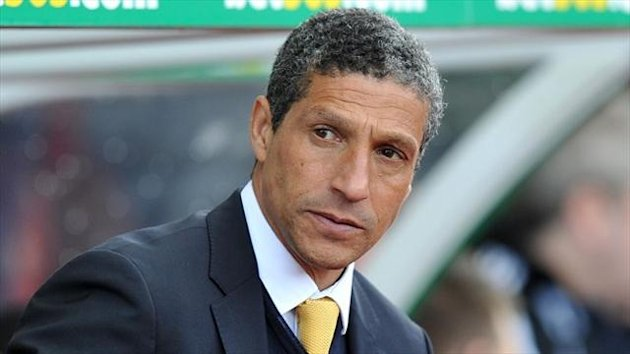 Chris Hughton says Norwich are looking to improve, but they will first and foremost be targeting Premier League survival
