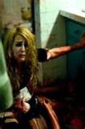 The victim of violence in the movie Halloween 2 which was Rob Zombie's version. Character in picture gets stabbed.