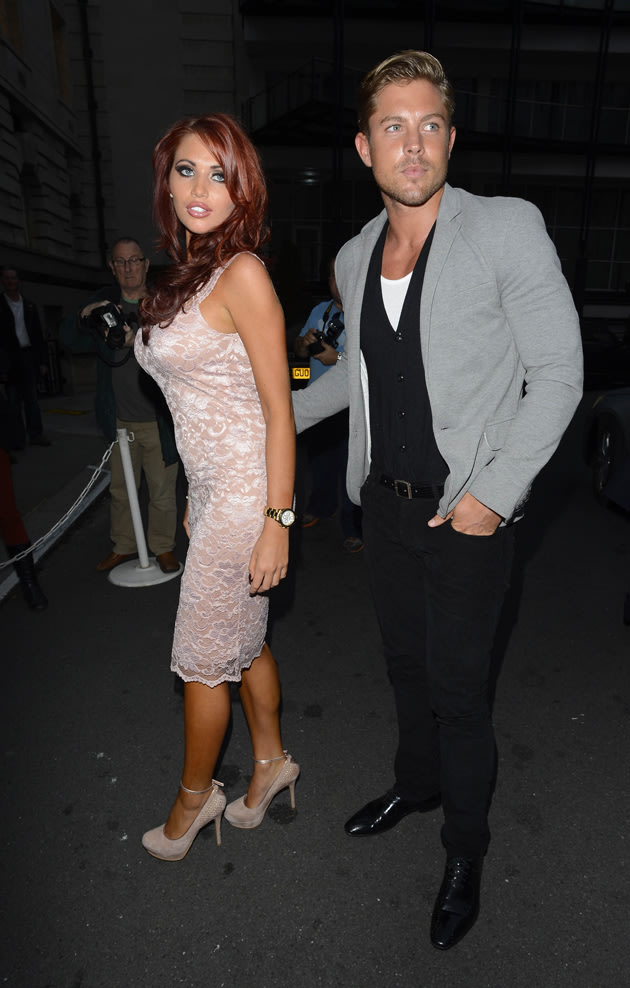 Amy Childs with new boyfriend