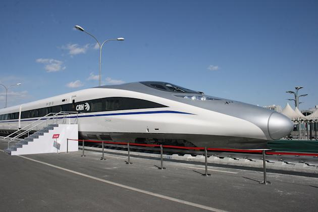 The 10 fastest trains in the world