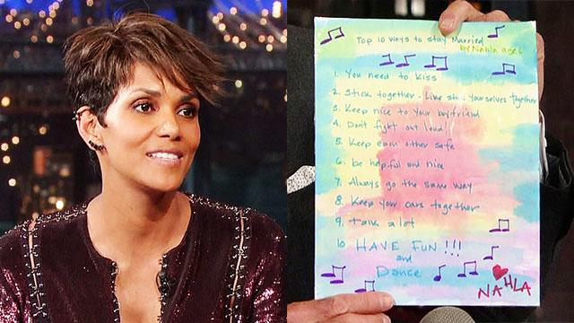 Marriage Advice from Halle Berry's Kid Daughter