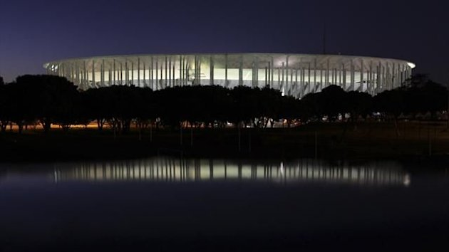 The National Mane Garrincha Stadium in Brasilia (Reuters)