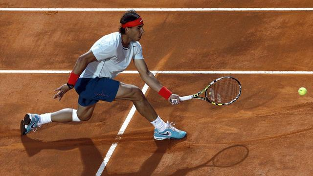Tennis - Nadal off to emphatic start in Rome