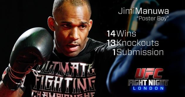 Jimi Manuwa UFC Fight Night London