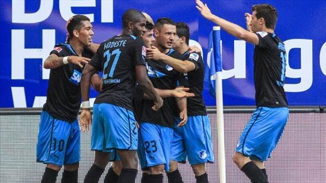 Bundesliga - Hoffenheim crush Hamburg
