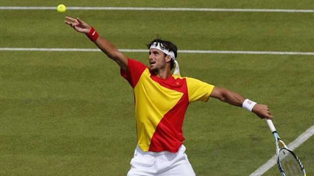 2012 Olympic Games Feliciano Lopez (Spain)