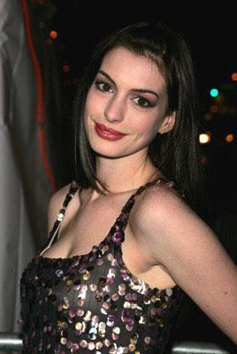 Anne Hathaway at the NY premiere of Focus Features' Brokeback Mountain