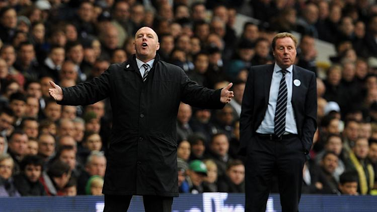 Harry Redknapp (right) and Steve Kean