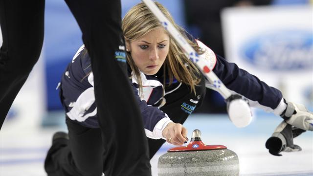 Curling - Off-colour Muirhead downs Denmark in Riga