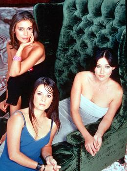 Alyssa Milano, Shannen Doherty and Holly Marie Combs in Charmed