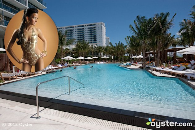 Credit: iStock Photo; The Pool at the W South Beach