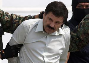 "Joaquin ""El Chapo"" Guzman is escorted to…"