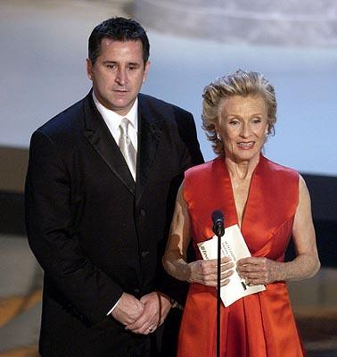 Anthony LaPaglia and Cloris Leachman Emmy Awards - 9/22/2002