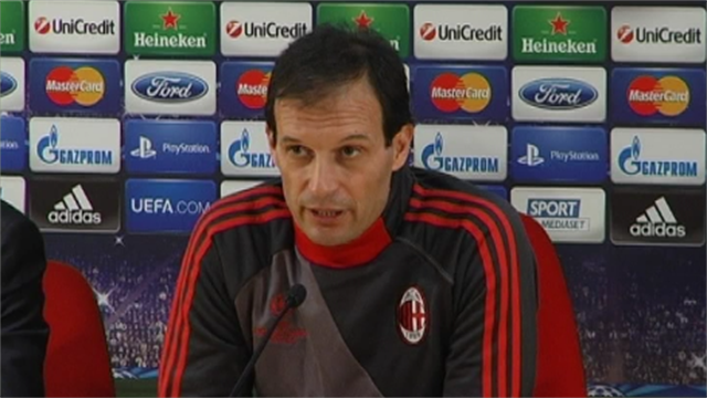 Champions League - Allegri: Barcelona the strongest team in the world