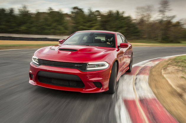 2015 Dodge Charger SRT Hellcat track photos