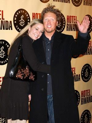 Premiere: Jake Busey and guest at the Beverly Hills premiere of United Artists' Hotel Rwanda - 12/2/2004