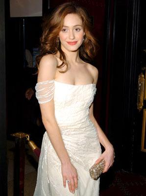 Emmy Rossum at the New York premiere of Warner Brothers' Andrew Lloyd Webber's The Phantom of the Opera