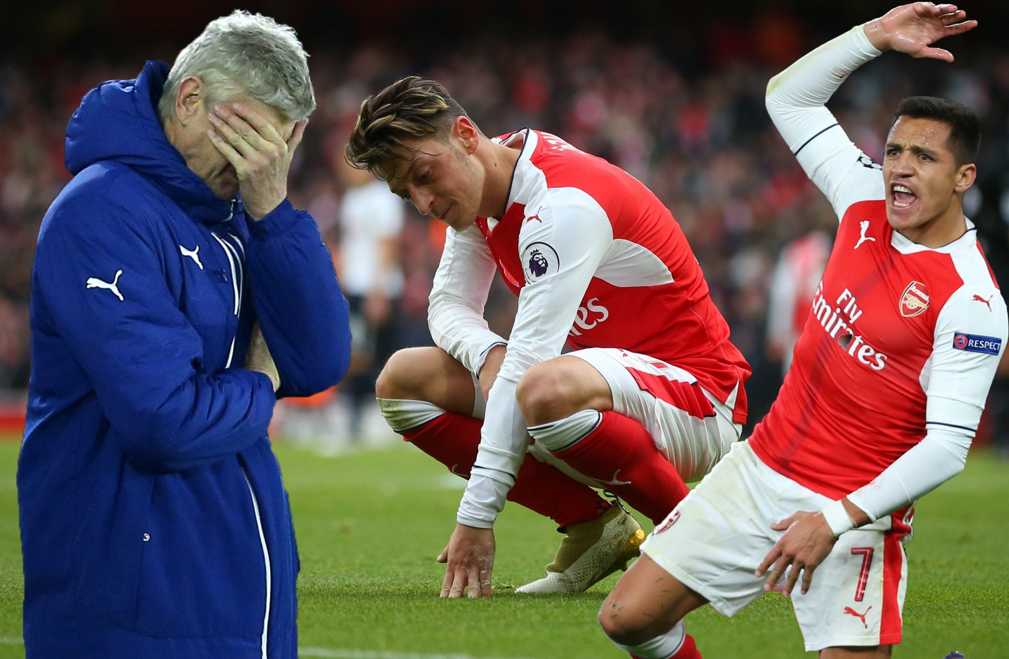 Arsene Wenger might pick the players but the likes of Sanchez and Ozil are just as much to blame for Arsenal's failings