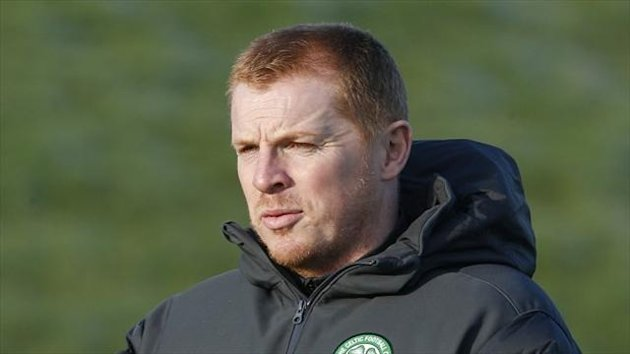 Neil Lennon, pictured, praised referee Bobby Madden