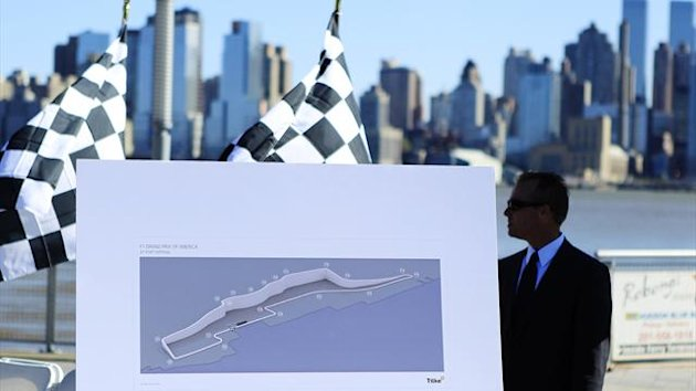 New Jersey will host a round of the Formula One world championship from 2013 (Reuters)