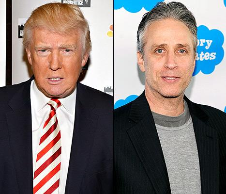 "Donald Trump Slams Jon Stewart as a ""Total Phony"""