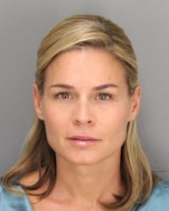 Cat Cora is seen in a police booking photo taken June 28, 2012 in Santa Barbara, Calif. Cora was arrested for DUI June 17, 2012 and later released. -- Getty Images