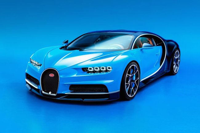 bugatti 39 s new 2 6 million chiron hypercar is here yahoo. Black Bedroom Furniture Sets. Home Design Ideas