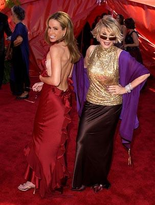 Melissa Rivers and Joan Rivers Emmy Awards - 9/22/2002
