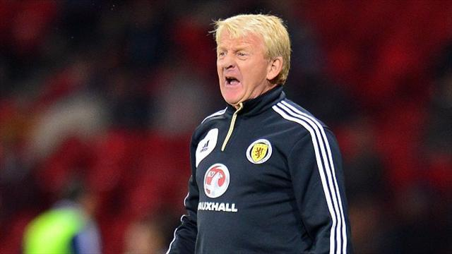 Football - Strachan takes friendlies seriously