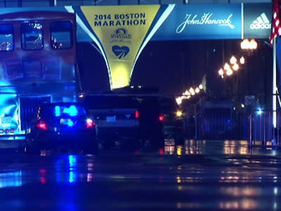 Suspicious Bags Found Near Marathon Finish Line