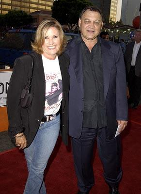Lorna Luft and Ed O'Ross at the LA premiere of New Line's Simone