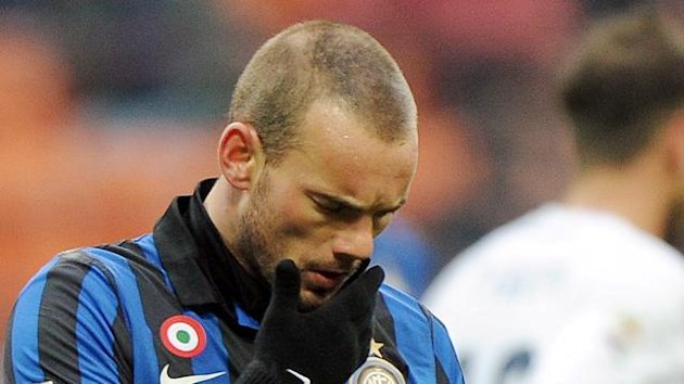 2011/2012 Sneijder Inter