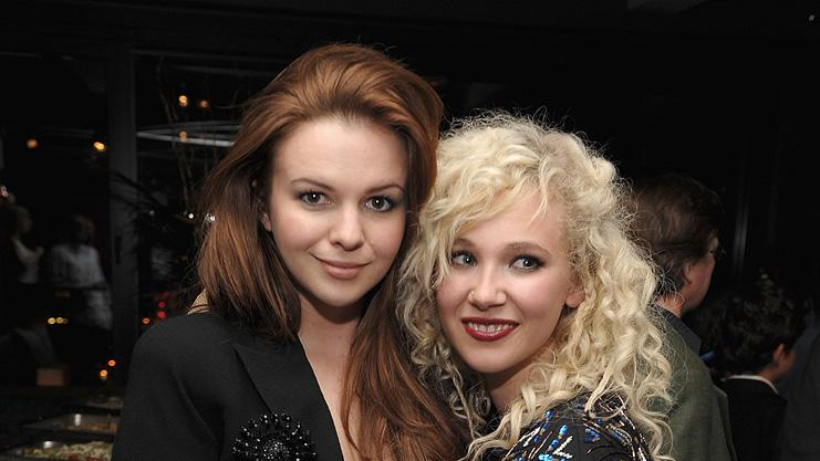 Year One New York premiere 2009 Amber Tamblyn Juno Temple