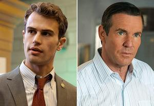 Walter Clark Jr., Dennis Quaid | Photo Credits: JoJo Whilden/CBS, Richard Cartwright/CBS